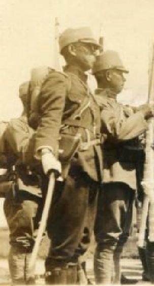 Officier de la garde impériale Holste10