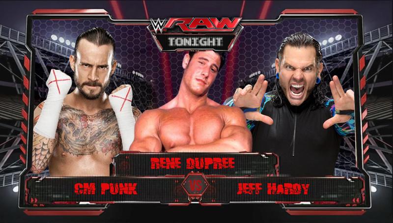 Carte de Raw 23 Octobre 2017 Punkvs11