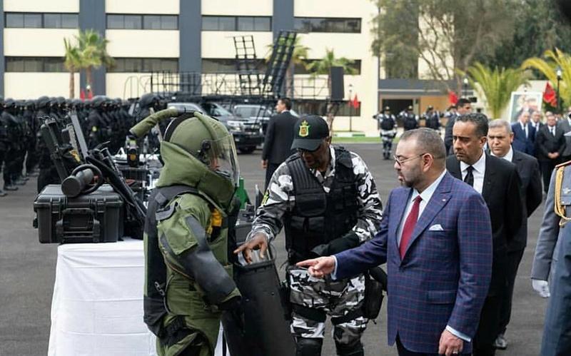Moroccan Special Forces/Forces spéciales marocaines  :Videos et Photos : BCIJ, Gendarmerie Royale ,  - Page 13 31190010