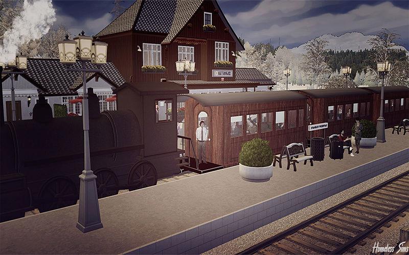 The Sims 4 - Train Station: Drei Annen Hohne 14_01_13