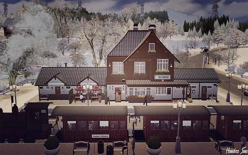 The Sims 4 - Train Station: Drei Annen Hohne 14_01_15