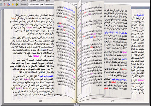 الصلاة على المذاهب الأربعة كتاب تقلب صفحاته بنفسك 318