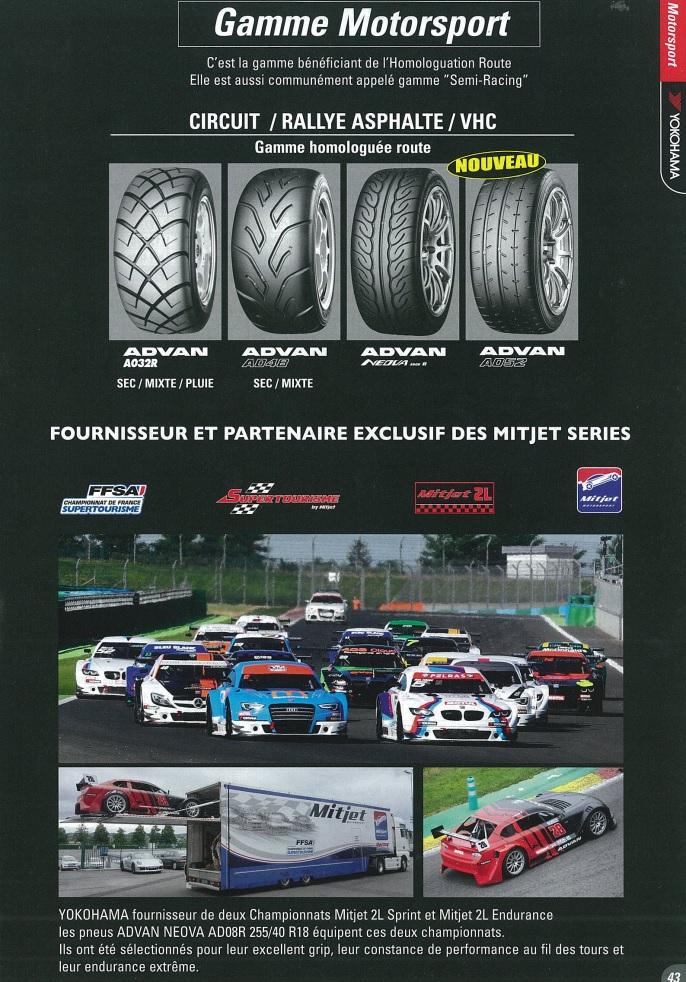 Catalogue Yokohama, Revendeur France, Tarifs Motors10