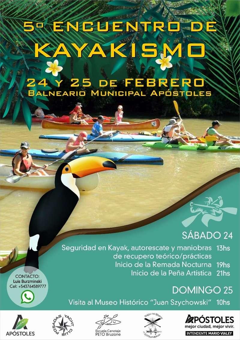 Encuentro de Piraguas y Kayaks Chimiray Apóstoles 4c102710