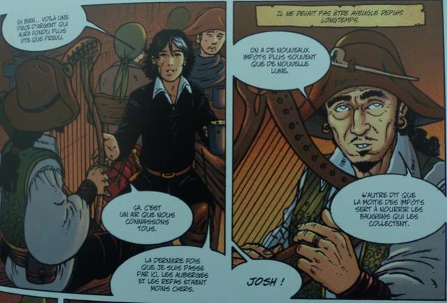 La harpe en bd! Josh10