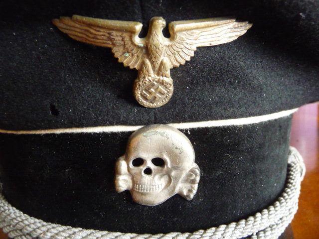 Casquette officier ss S-l16010