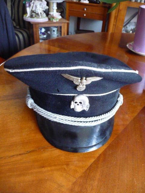 Casquette officier ss S-l16012