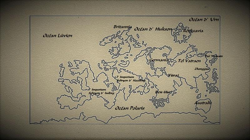 ¤ La carte du monde d'Océania Oceani10