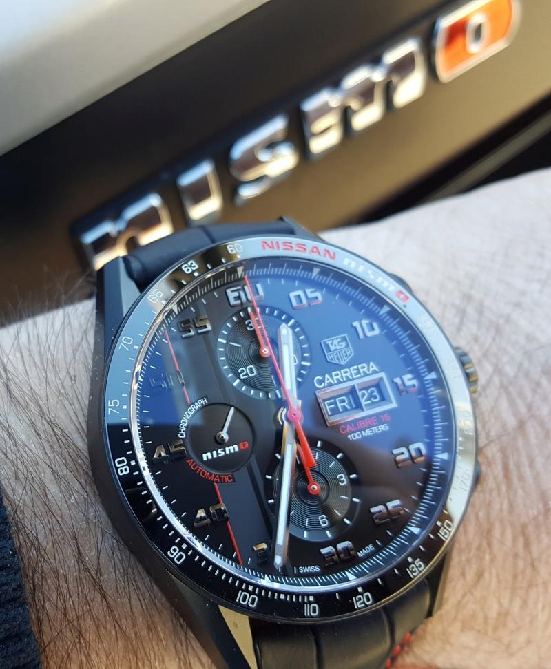 ¿Que reloj llevamos hoy? 20171224
