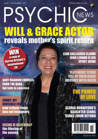 Psychic News - November 2017 Cover910