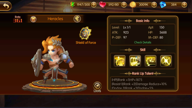 A New Look for Heroes Heracl11