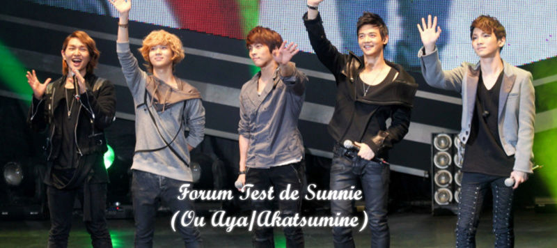 Forum Test de Sunnie - Portail Bann10