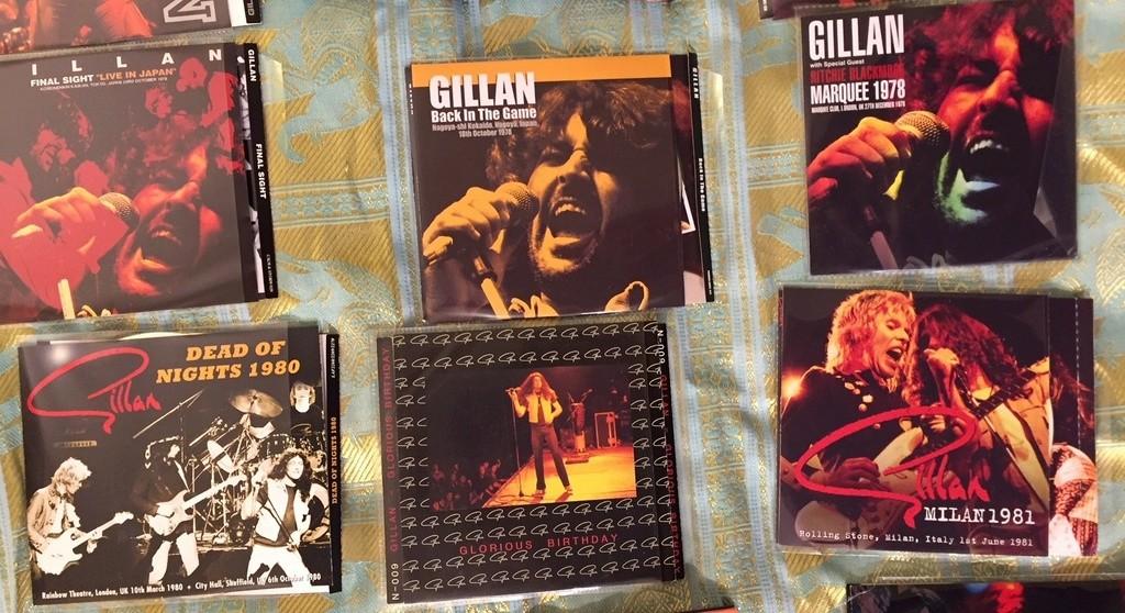 vos bootlegs GILLAN 76-83 hors deep purple Img_5730