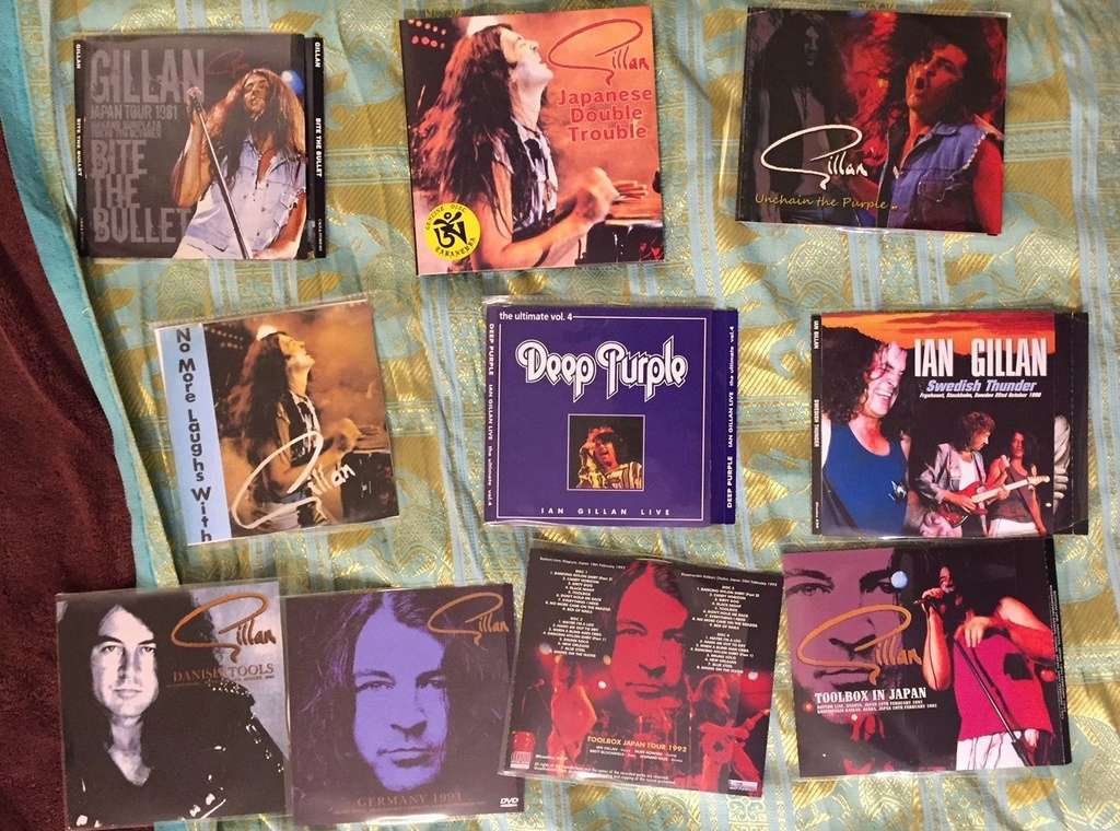vos bootlegs GILLAN 76-83 hors deep purple Img_5732