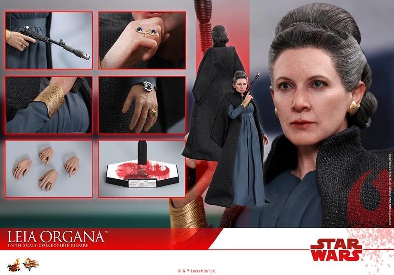 [Hot Toys] -Star Wars EP. VIII- Leia Organa 1/6 25442810