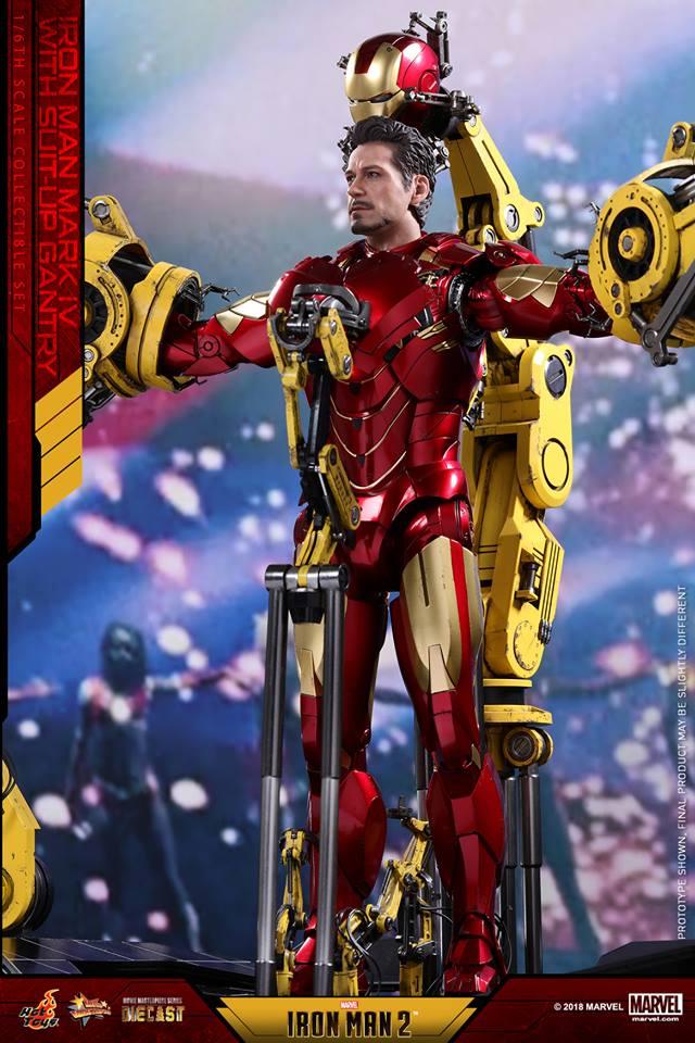 [Hot Toys] -Iron Man 2-Mark IV with Suit-Up Gantry 1/6 26047110
