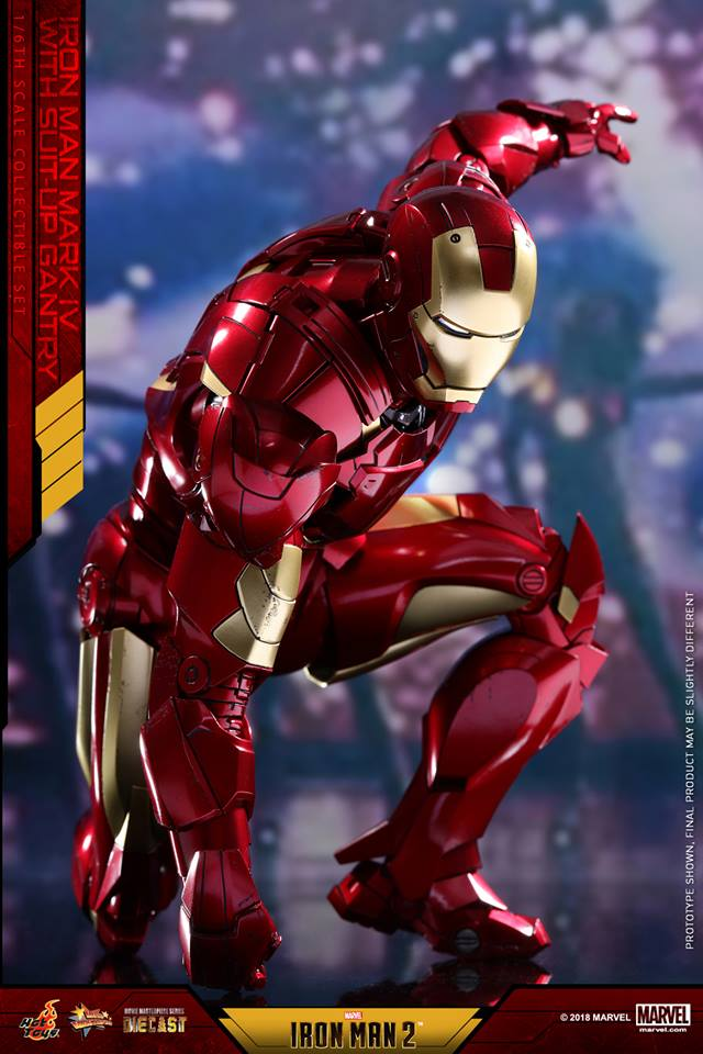 [Hot Toys] -Iron Man 2-Mark IV with Suit-Up Gantry 1/6 26047411