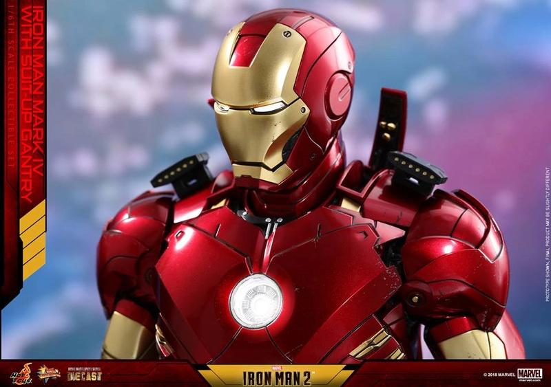 [Hot Toys] -Iron Man 2-Mark IV with Suit-Up Gantry 1/6 26047412