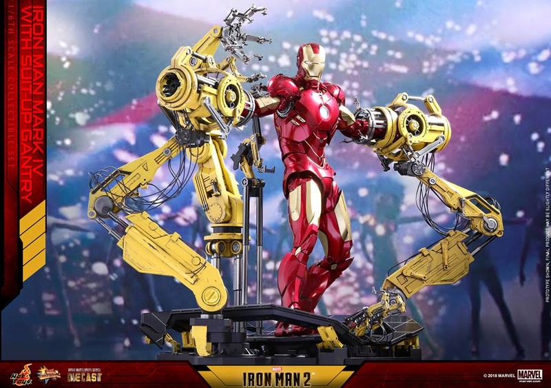 [Hot Toys] -Iron Man 2-Mark IV with Suit-Up Gantry 1/6 26047413
