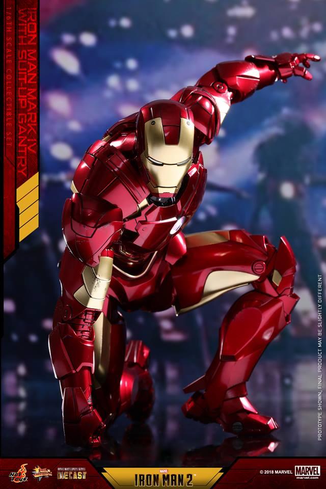 [Hot Toys] -Iron Man 2-Mark IV with Suit-Up Gantry 1/6 26055710