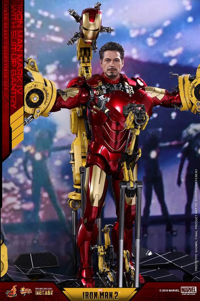 [Hot Toys] -Iron Man 2-Mark IV with Suit-Up Gantry 1/6 26055810