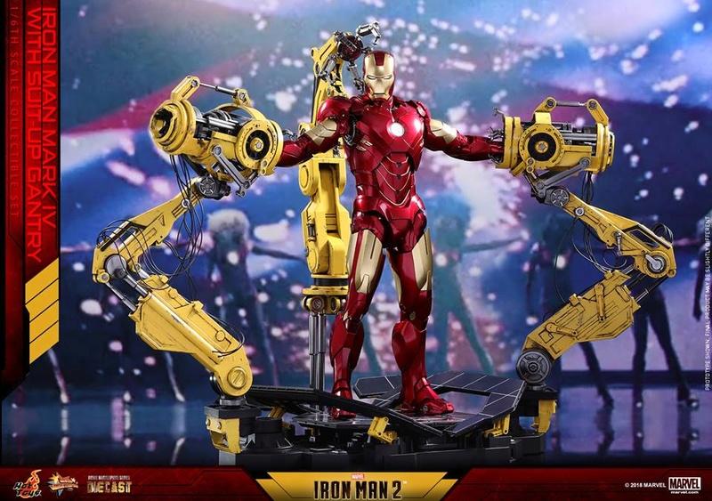 [Hot Toys] -Iron Man 2-Mark IV with Suit-Up Gantry 1/6 26111910