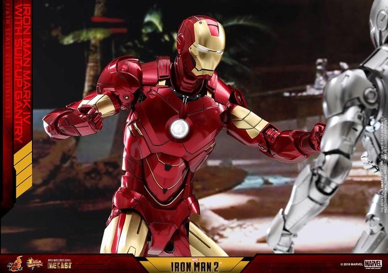 [Hot Toys] -Iron Man 2-Mark IV with Suit-Up Gantry 1/6 26112111