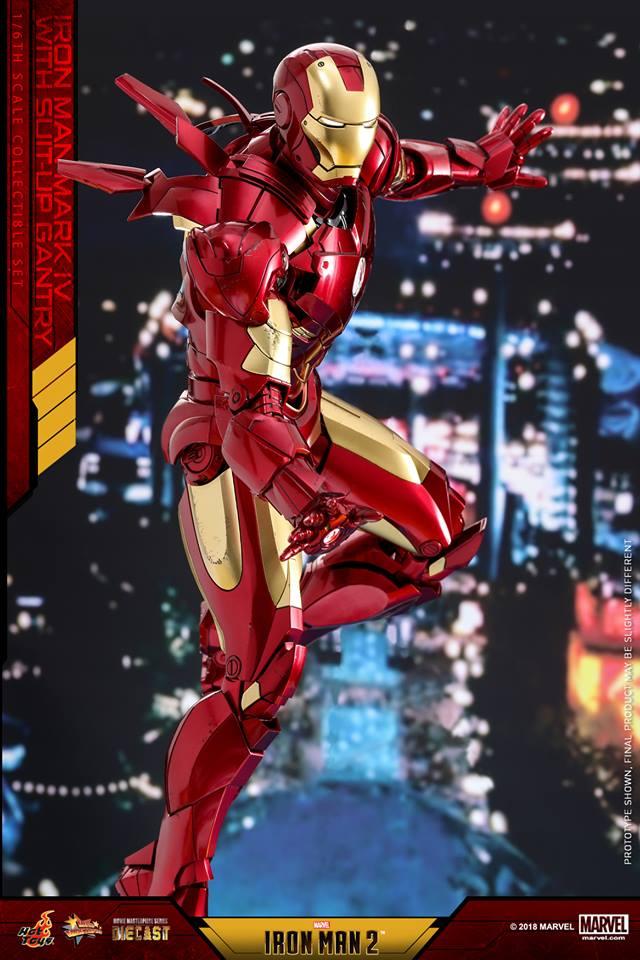 [Hot Toys] -Iron Man 2-Mark IV with Suit-Up Gantry 1/6 26112212