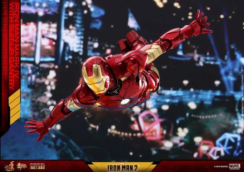[Hot Toys] -Iron Man 2-Mark IV with Suit-Up Gantry 1/6 26112410