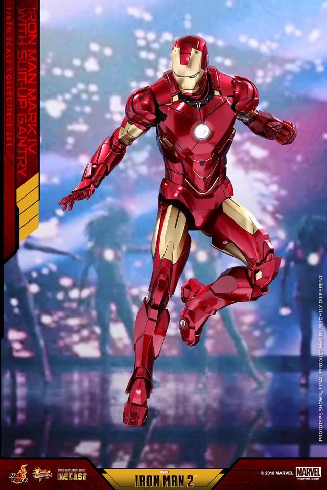 [Hot Toys] -Iron Man 2-Mark IV with Suit-Up Gantry 1/6 26113910