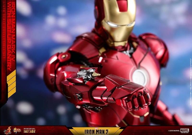 [Hot Toys] -Iron Man 2-Mark IV with Suit-Up Gantry 1/6 26114010