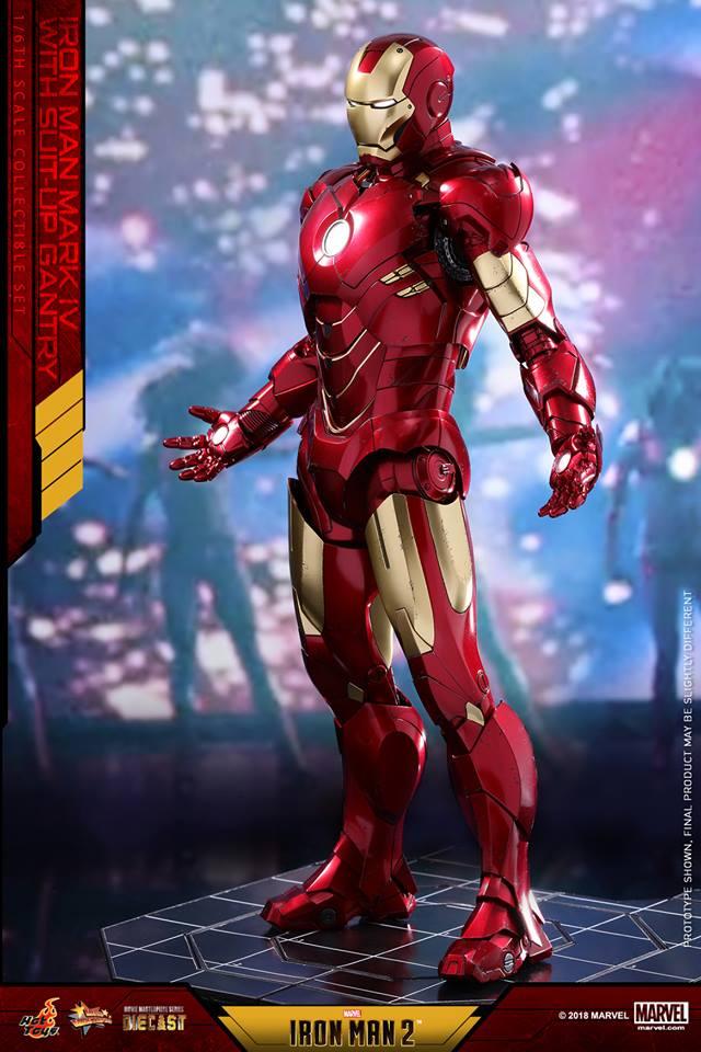 [Hot Toys] -Iron Man 2-Mark IV with Suit-Up Gantry 1/6 26165910