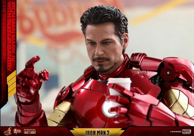 [Hot Toys] -Iron Man 2-Mark IV with Suit-Up Gantry 1/6 26166710