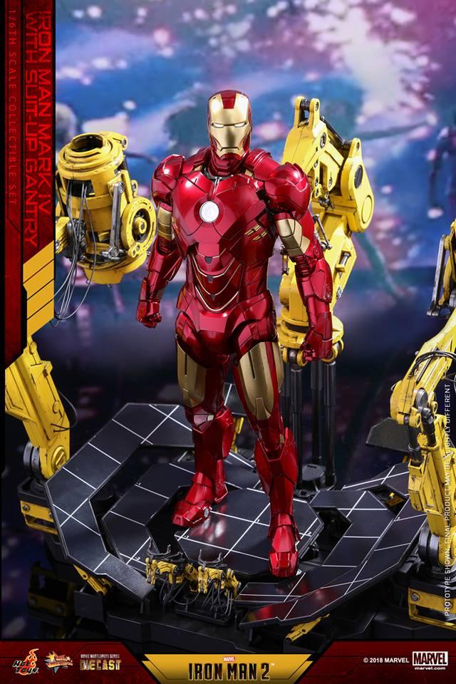 [Hot Toys] -Iron Man 2-Mark IV with Suit-Up Gantry 1/6 26166811