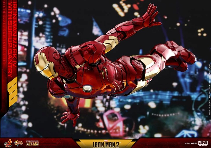 [Hot Toys] -Iron Man 2-Mark IV with Suit-Up Gantry 1/6 26167410