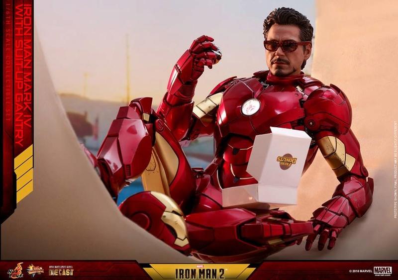 [Hot Toys] -Iron Man 2-Mark IV with Suit-Up Gantry 1/6 26167510