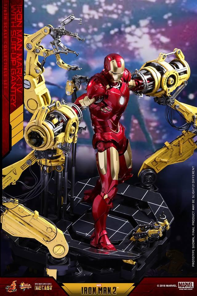 [Hot Toys] -Iron Man 2-Mark IV with Suit-Up Gantry 1/6 26167710
