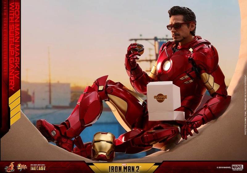 [Hot Toys] -Iron Man 2-Mark IV with Suit-Up Gantry 1/6 26168210