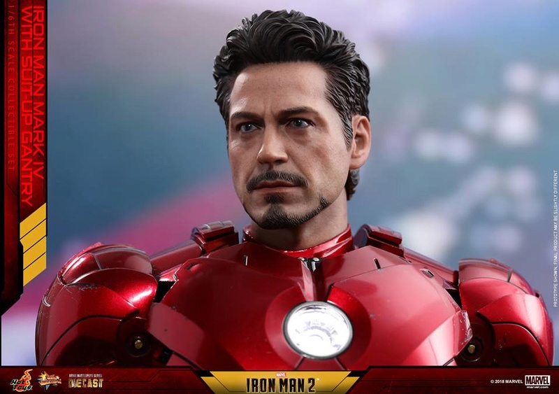 [Hot Toys] -Iron Man 2-Mark IV with Suit-Up Gantry 1/6 26169310