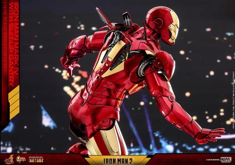 [Hot Toys] -Iron Man 2-Mark IV with Suit-Up Gantry 1/6 26169510