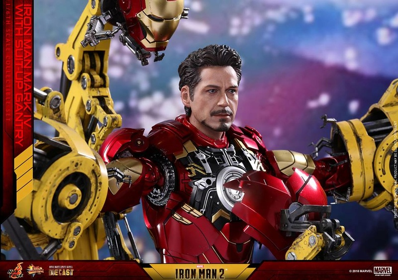 [Hot Toys] -Iron Man 2-Mark IV with Suit-Up Gantry 1/6 26219310