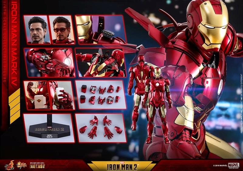 [Hot Toys] -Iron Man 2-Mark IV with Suit-Up Gantry 1/6 26229910
