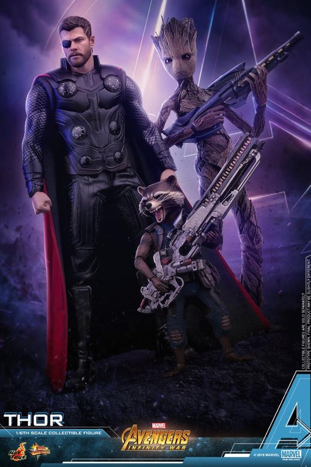 [Hot Toys] -Avengers: Infinity War -Thor 1/6 28378212