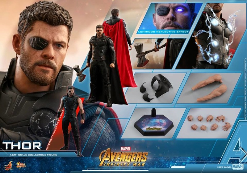 [Hot Toys] -Avengers: Infinity War -Thor 1/6 28378213