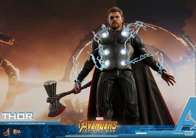 [Hot Toys] -Avengers: Infinity War -Thor 1/6 28378512