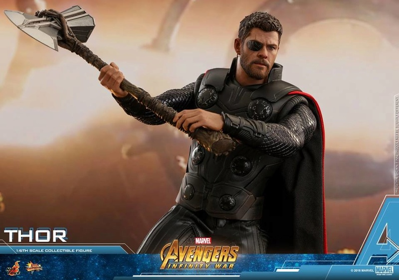 [Hot Toys] -Avengers: Infinity War -Thor 1/6 28378613