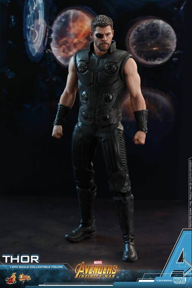 [Hot Toys] -Avengers: Infinity War -Thor 1/6 28379011