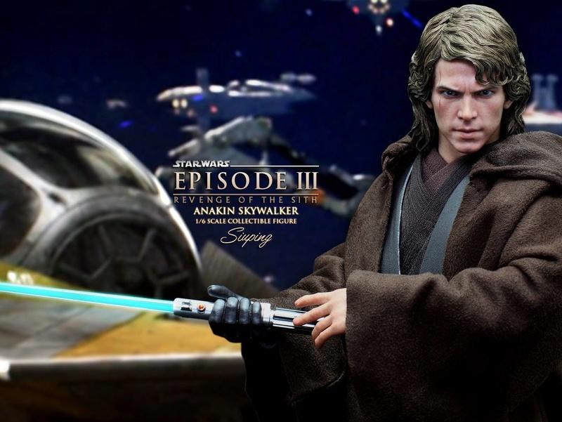 [Hot Toys]- Star Wars EP III - Anakin Skywalker 1/6 28379411