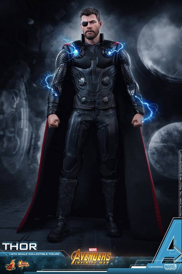 [Hot Toys] -Avengers: Infinity War -Thor 1/6 28471212