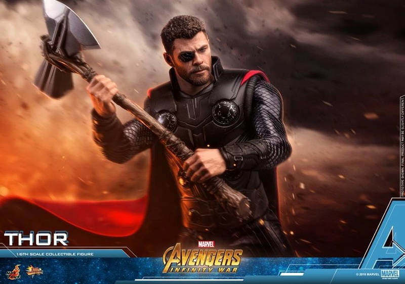 [Hot Toys] -Avengers: Infinity War -Thor 1/6 28472111